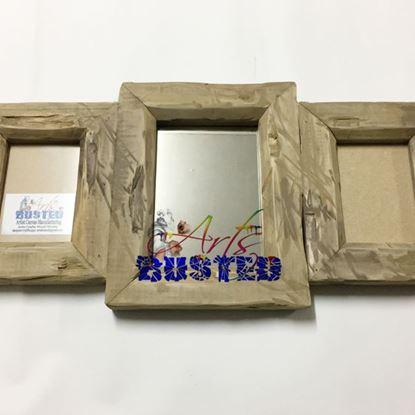 Mirror: Wood 3-Frame Set (Large)